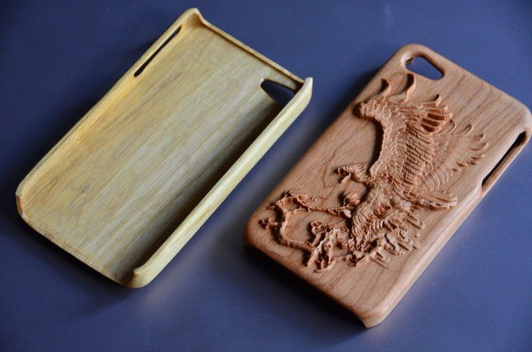 phone cover 3D relief
