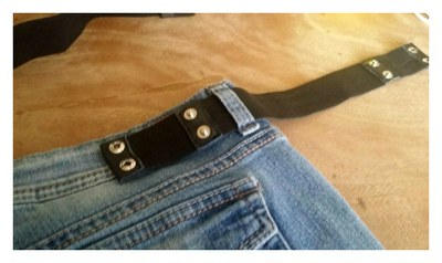 installing the belt on your pants is so simple.