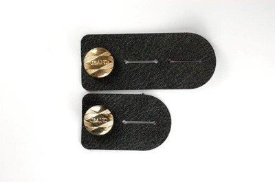 Leather button extenders