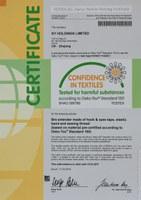 Renewal certificate SHAO 095780